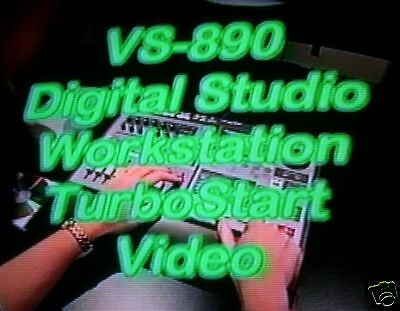 Roland VS-890 Turbostart DVD - True 24 Bit Recording ! A MUST HAVE Video !!!!