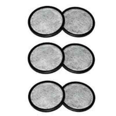 Mr. Coffee 113035-001-000 Water Filtration Disk, 3.25-Inch, Pack of 6