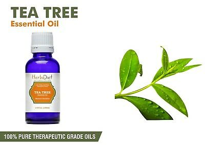 Tea Tree Essential Oil 100% Pure Natural PREMIUM Therapeutic Grade Oils