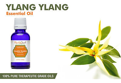 Ylang Ylang Essential Oil 100% Pure Natural Aromatherapy Therapeutic Grade Oils