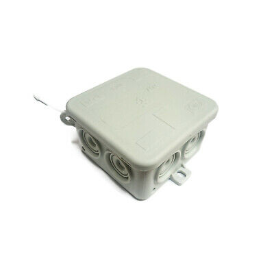 IP54 Waterproof Electrical Junction Box (70x70x35mm)