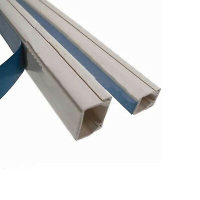 Self Adhesive Electrical Trunking (18 x 9mm)
