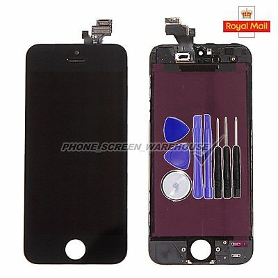 For iPhone 5 LCD Touch Screen Digitizer Display Full Assembly Black Replacement