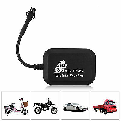 Mini GSM GPRS GPS Tracker Moto Car Real-Time Tracking System Kit Device Alarm LT