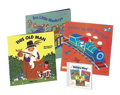Child's Play Classic Books with Holes with CD