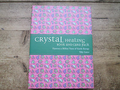 Crystal Healing Book And Card Pack
