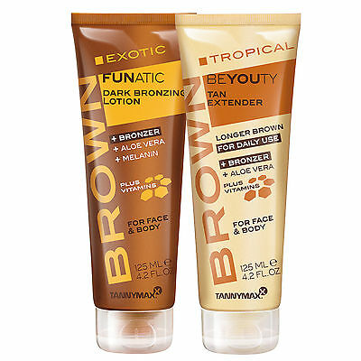 """Tannymaxx Brown """"Exotic Funatic + Tropical Beyouty After Sun"""" je 125 ml"""