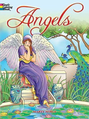 Angel Creative Relax Therapy Anti Stress Fun Dover Coloring Books For Adults NEW