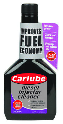 Carlube Diesel Injector Cleaner Maximum Fuel System Efficiency 300ml QID300