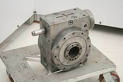 ESAB MNR 454574 Worm Drive Precision Rotary Indexer Table 100:1 Ratio