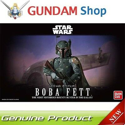 BANDAI Star Wars 1/12 Boba Fett No. 201305 JAPAN