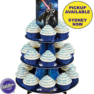 Star Wars Party Supplies Darth Vader Cake Cupcake Stand Treat Holder