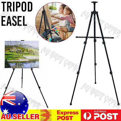 Art Adjustable Stand Artist NonSlip Tripod Display Sketching Paint Drawing easel