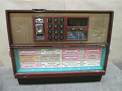SEEBURG -digital electronic consolette  JUKEBOX SELECTOR