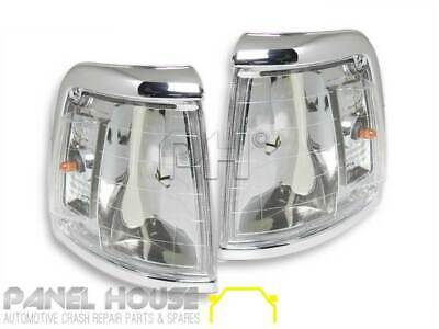 Toyota Hilux 2WD '92-'96 Front CRYSTAL Clear Style Corner Park Light Upgrade Set