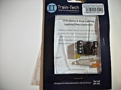 Train-Tech Lighting effect controller HO/OO/N model Trains - Controls 4 LEDs