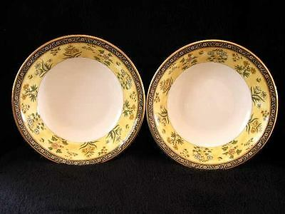 """2 WEDGWOOD INDIA OATMEAL CEREAL BOWLS 6"""" (16cm) BEST QUALITY & NEW FROM SHOP G1"""