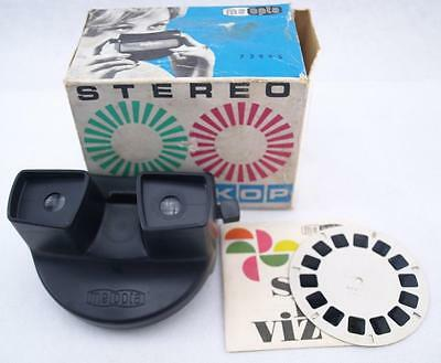 Vintage Czechoslovak View Master Stereo Meoskop Meopta 1 Nude Girls Photo Slides