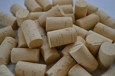 Natural Cork Stopper  Bottling Home Brew Wine Making Corking Portugal QUALITY