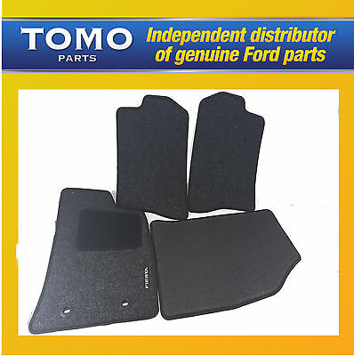 Genuine New Ford Fiesta MK6 2001-2008 Set of 4 Tailored Carpet Mats Front+Rears