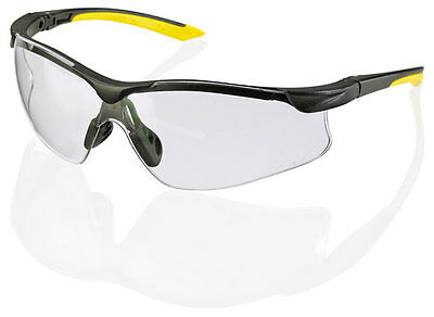 B Brand BBYS YALE Safety Eye Protection Spectacles/Glasses CLEAR Lens
