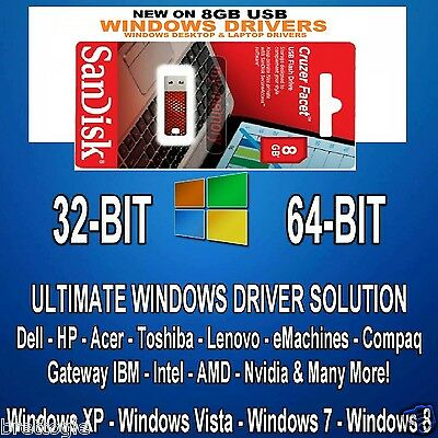 AUTOMATIC WINDOWS DRIVERs SOFTWARE FOR  XP VISTA 7 8 8.1 10 on USB