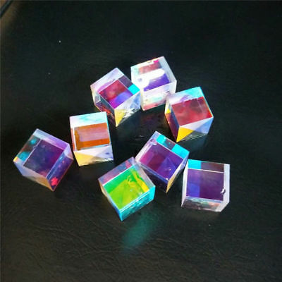 5 PCS Defective Optical Galss RGB Prism X-CUBE for Physics Teach Decoration Art