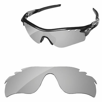 a738cdd4b2e PapaViva Silver Polarized Replacement Lenses for-Oakley RadarLock Path  Vented