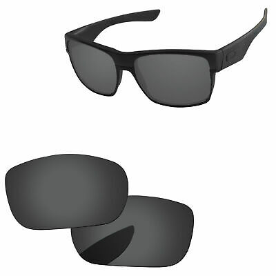 8e59f421b0 PapaViva Black Polarized Replacement Lenses for-Oakley TwoFace Sunglasses