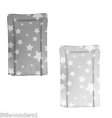 Deluxe Padded Boys/Girls PVC Changing Mat STARS Design - Top Quality