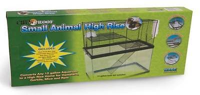 Critter Ware Small Animal Chew Proof High Rise Wire Extension Add On Top of Cage