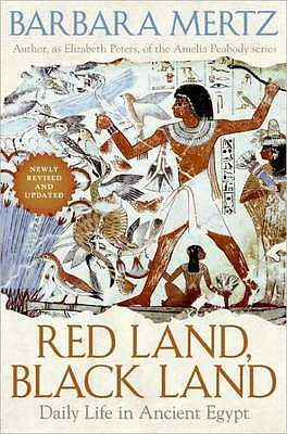 *New* RED LAND, BLACK LAND: Daily Life in Ancient Egypt by Barbara Mertz