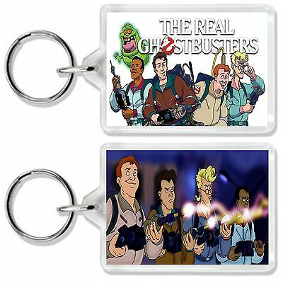 The Real Ghostbusters Retro Kids Tv Show And Dvd Keyring Uk Seller