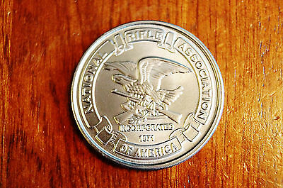 NRA Commemorative Coin Shooting Gun Rights Challenge