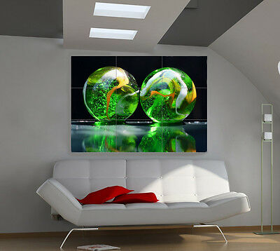 Attraction large giant 3d poster print photo mural wall art ia010