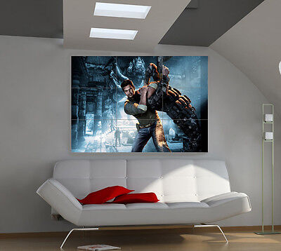 Uncharted 2 large giant games poster print photo mural wall art ii115