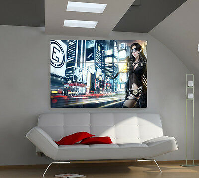Anime Tokio large giant 3d poster print photo mural wall art ia008