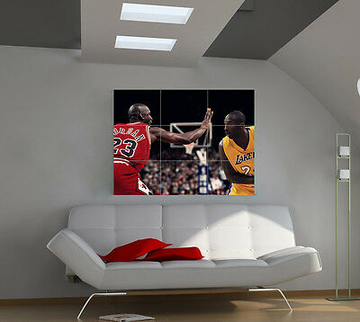 Michael Jordan large giant games poster print photo mural wall art ipx41