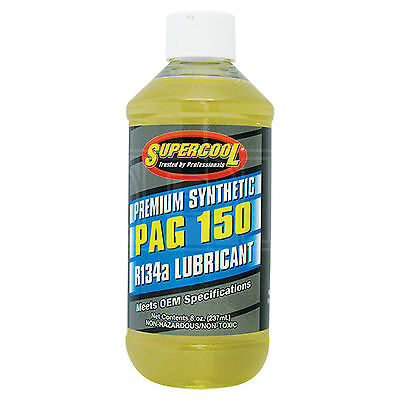 Supercool PAG 150 Synthetic Air Conditioning Lubricant R-134a R134a - 237ml 8oz