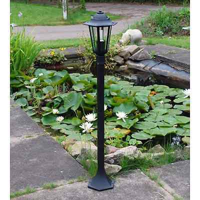 Traditional Victorian Post Lantern 240V Garden Path Security Light Lamp Out3