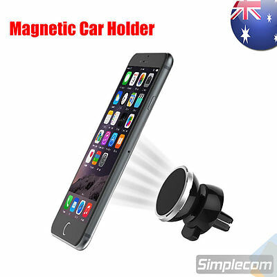 Universal Adjustable Magnetic Air Vent Car Mount Holder for Mobile Phone iPhone