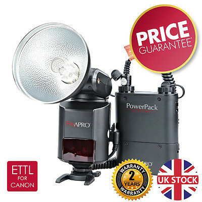 HYBRID360ETTL Portable Barebulb Flash Godox AD360II Canon *2 year UK warranty