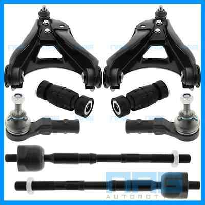 Kit Bras Triangle De Suspension + Biellettes + Rotules Renault Clio 2 Ii 99-05