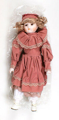 Heather D-22 Porcilain Doll By Americas Porcelain Heritage Mint Ltd Collector