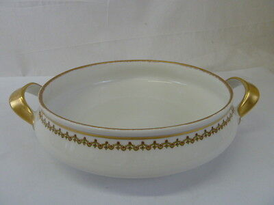 "Vintage Limoges Theodore Haviland France China 8"" Round Vegetable Serving Bowl"