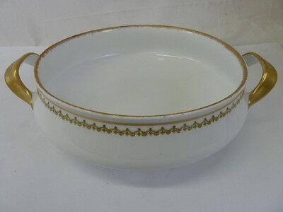 "Vintage Limoges Theodore Haviland France China 9"" Round Vegetable Serving Bowl"