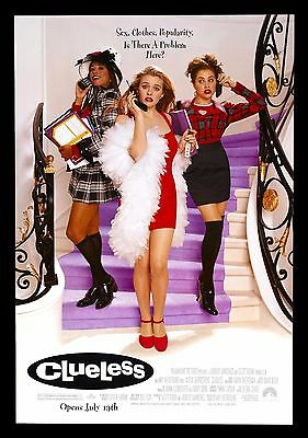 CLUELESS * CineMasterpieces ORIGINAL MOVIE POSTER ROLLED DS 1995 MEAN GIRLS