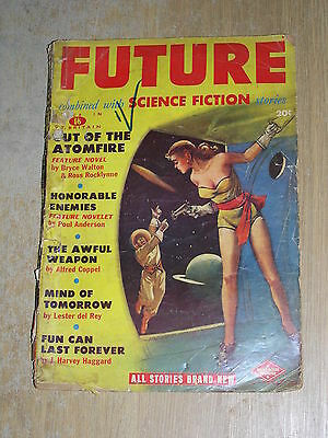 Future Combined With Science Fiction No 4 Robert W Lowndes