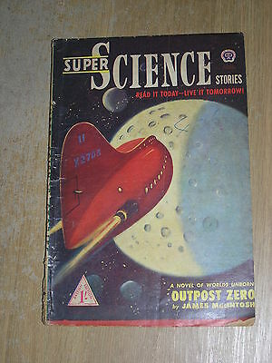 Super Science Stories No 7 August