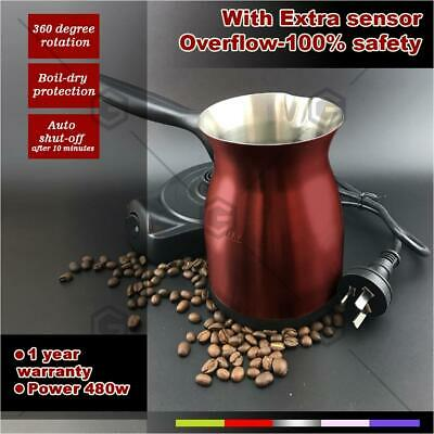 Electric Turkish coffee maker with Sensor Coffee will Nevery Spilling Out 200ml
